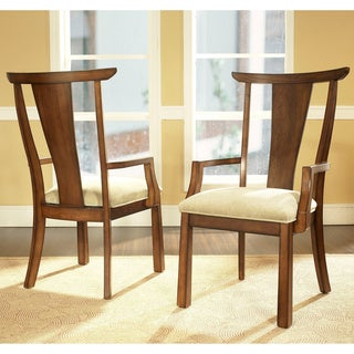 Somerton Dwelling Dakota Arm Chairs (Set of 2)