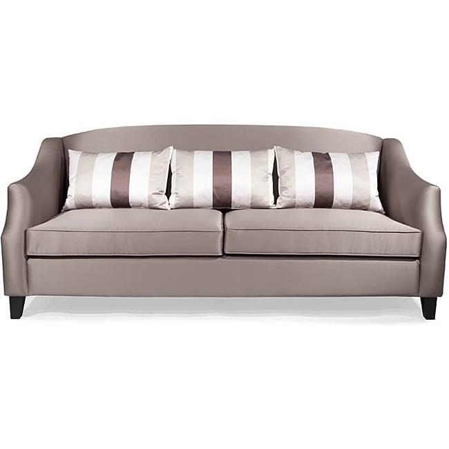 Contemporary Champagne Sofa
