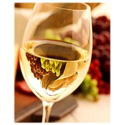 Orange Cat Art Mark Wagoner 'White Wine Glass' Photographic Print