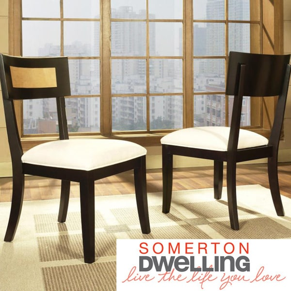 Somerton Dwelling Insignia Dining Chairs (Set of 2)