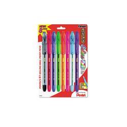 Pentel R.S.V.P. Medium Point Assorted Color Ballpoint Stick Pens (Pack of 8)