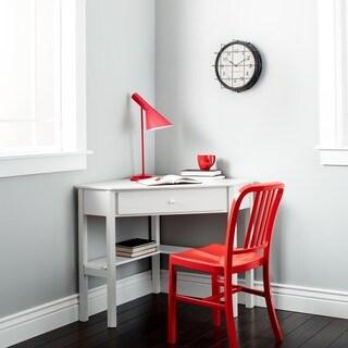 porch u0026 den third ward lincoln white wood corner computer desk