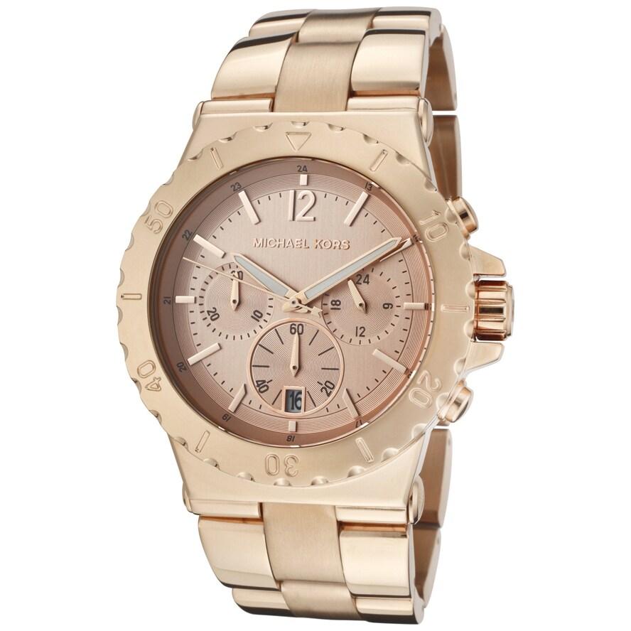 Michael Kors Womens MK5314 Rose Gold-Tone Watch