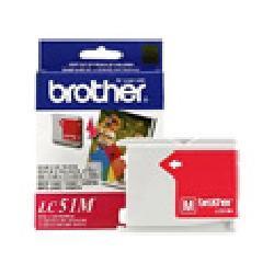 Genuine Brother LC51M Magenta Inkjet Cartridge