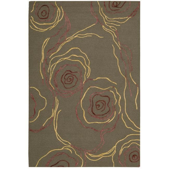 Nourison Cambria Bronze Wool Blend Rug (8' x 10')