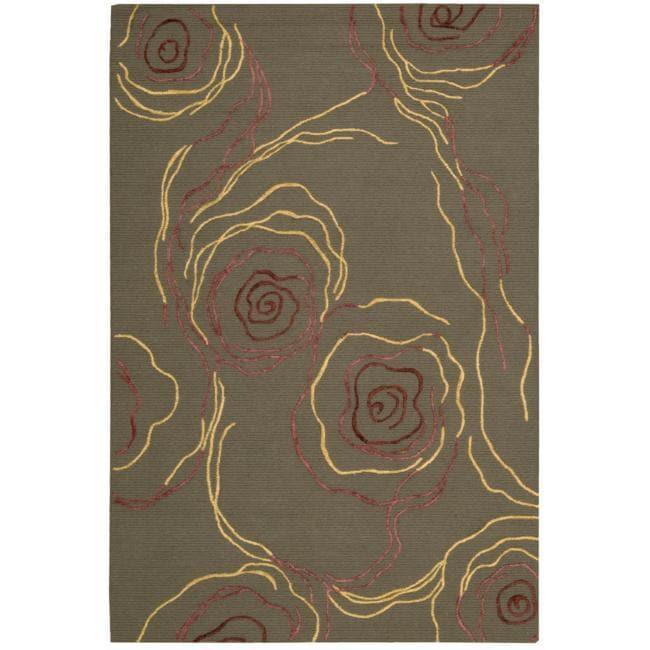 Nourison Sorrento Bronze Wool Blend Rug - 8' x 10'
