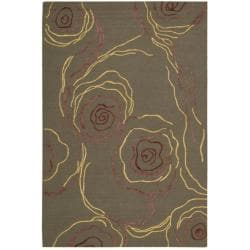Nourison Sorrento Bronze Wool Blend Rug (8' x 10')
