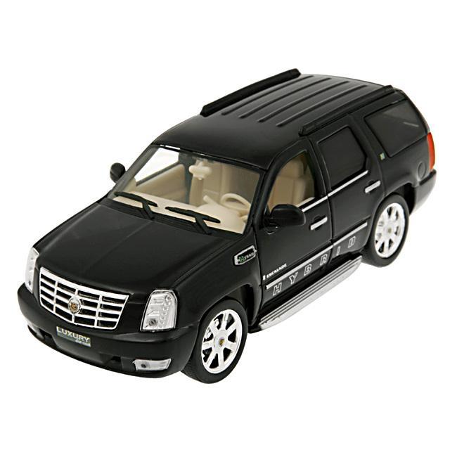 Cadillac Escalade Hybrid Black 2010 Diecast Model Car
