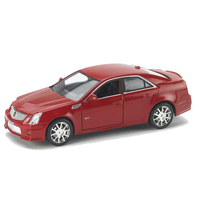 2010 Cadillac Cts For Sale: Cadillac CTS-V Crystal Red 2010 Diecast Scale Model Car