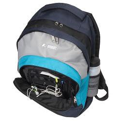 Everest 17-inch Deluxe Compartment Backpack - Thumbnail 1