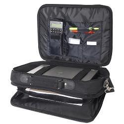 Everest Black 15-inch 600 Denier Polyester Classic Laptop Case
