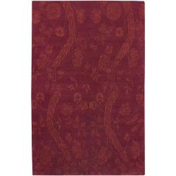 Hand-knotted Heritage Wool Area Rug - 9' x 13' - Thumbnail 0