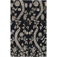 Hand-knotted Kaplan Wool Area Rug (9' x 13')