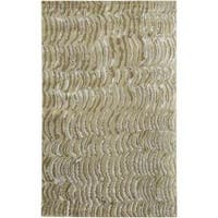 Hand-knotted Clermont Abstract Design Wool Area Rug (9' x 13')