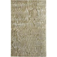 Hand-knotted Clermont Abstract Design Wool Area Rug - 9' x 13'