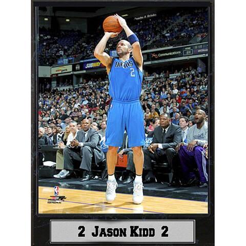 Dallas Mavericks Jason Kidd Plaque