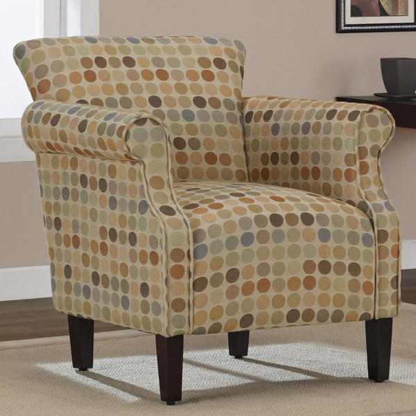 Tiburon Crop Circles Arm Chair