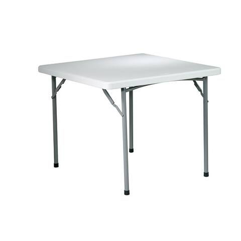 Office Star 36-inch Square Multi-purpose Folding Table