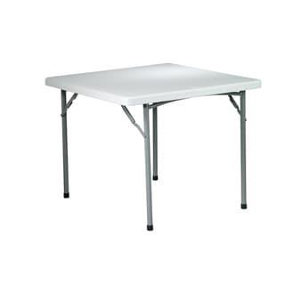 Office Star 36-inch Square Multi-purpose Folding Table