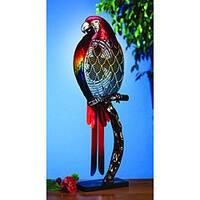 Deco Breeze DBF0338 Multi-color Parrot Figurine Fan