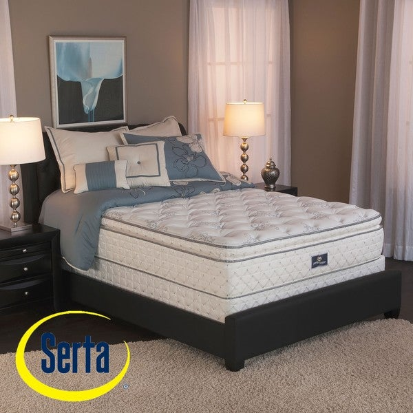 Best Price On Queen Size Mattress Set: Serta Perfect Sleeper Liberation Pillow Top Cal King-size