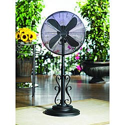 Deco Breeze DBF0624 Ebony 38-50-inch Outdoor Fan