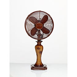 Deco Breeze DBF0762 Sambuca 10-inch Table Fan