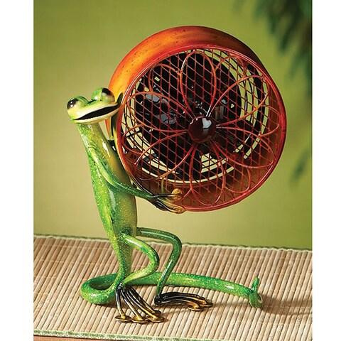 Small Gecko Figurine Fan