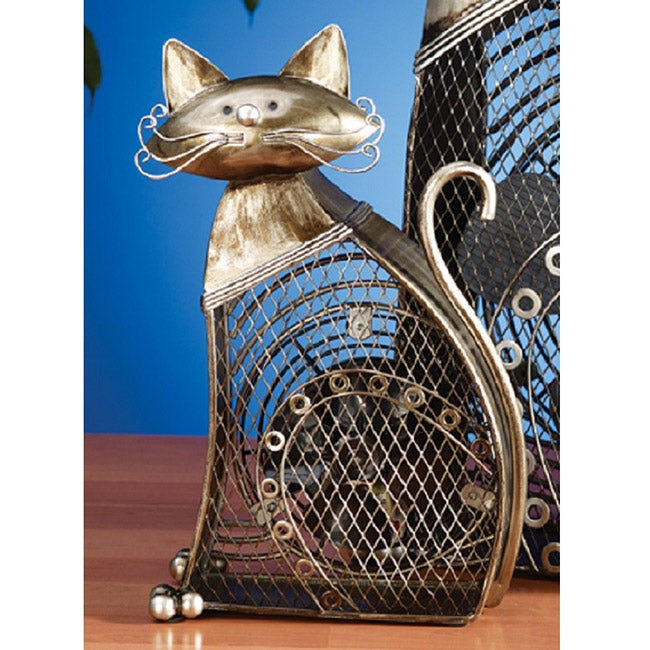Deco Breeze DBF0257 Small Cat Figurine Fan
