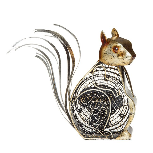 Shop Deco Breeze Dbf0225 Squirrel Figurine Fan Free