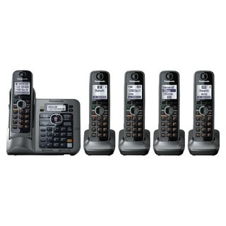 Panasonic Link2Cell KX-TG7645M DECT 6.0 1.90 GHz Cordless Phone - Met