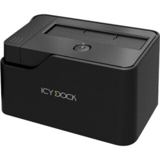 Icy Dock MB981U3-1SA Drive Dock External - Black