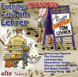 TOM LEHRER - EVENINGS WASTED WITH TOM LEHRER