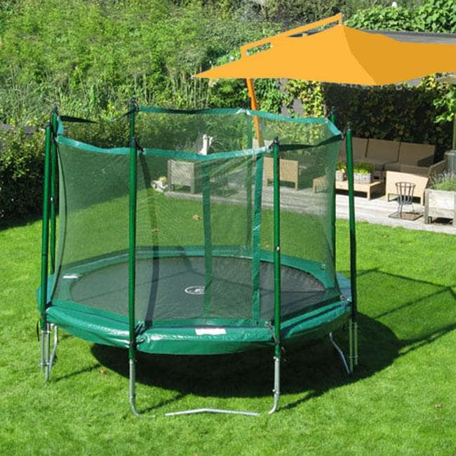 Kidwise Jumpfree 15 Ft Trampoline And Safety Enclosure: Shop KidWise Jumpfree 12-foot Trampoline With Safety