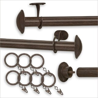 Pinnacle Indoor/Outdoor Curtain Rod (52-100 inches) - 100