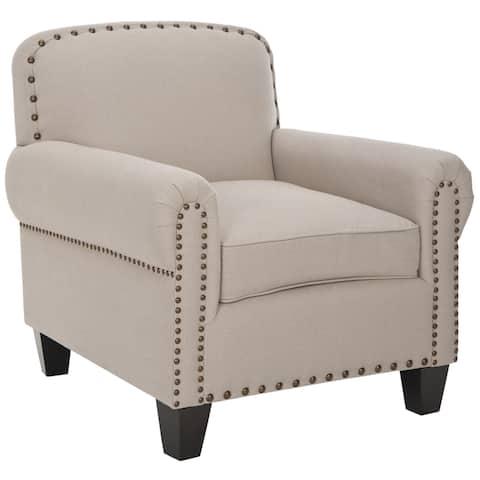 """Safavieh Chester Beige Club Chair - 29.5""""x33.9""""x32.3"""""""