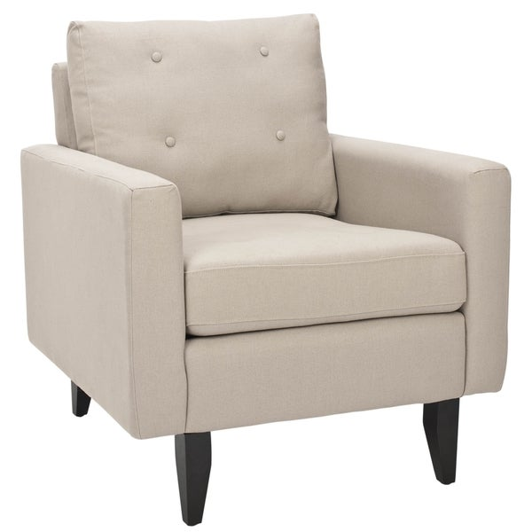 Safavieh Moonstruck Biege Club Chair