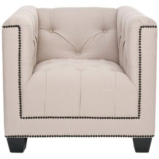 Safavieh Majesty Beige Club Chair