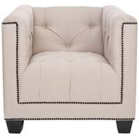 Safavieh Majesty Beige Club Chair