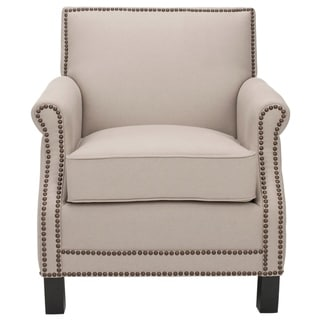 Safavieh Mansfield Beige Club Chair