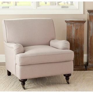 "Link to Safavieh Nottingham Sand Taupe Club Chair - 29.3""x34.3""x31.5"" Similar Items in Living Room Chairs"