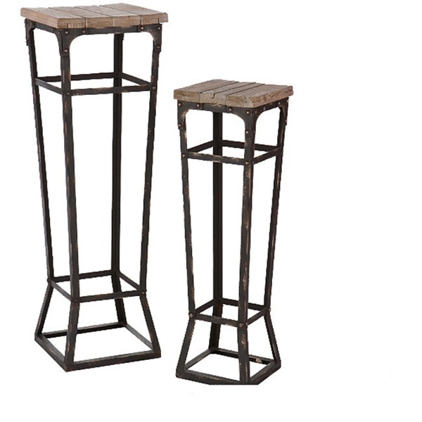 angelo:HOME Bowery Pedestals (Set of 2)