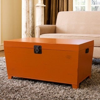 angelo:HOME Orange Pyramid Trunk Coffee Table