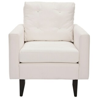 Safavieh Moonstruck White Club Chair