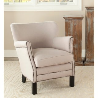 Safavieh Noble Petite Beige Club Chair