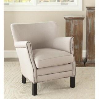 Safavieh Noble Beige Club Chair