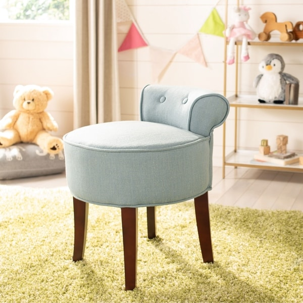 Shop Safavieh Rochelle Rose Vanity Chair On Sale Free