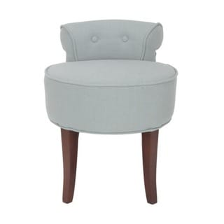 Safavieh Rochelle Light Sage Vanity Chair