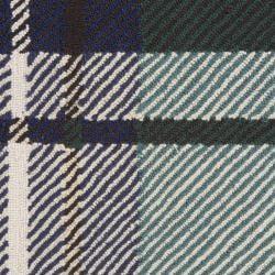 Hand-hooked Mandara Geometric Green Wool Rug (3' x 5') - Thumbnail 1