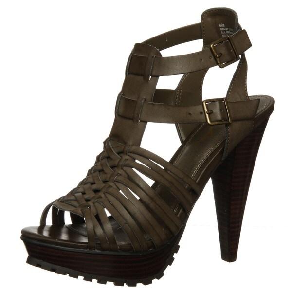 e47d04048b4 Shop MIA Shoes Women s  Namby  Strappy Sandal - Free Shipping On ...